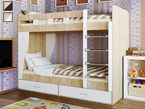 Детские двухъярусные кровати: 50+ фото, идеи для девочек, мальчиков,  разнополых детей | 225x300