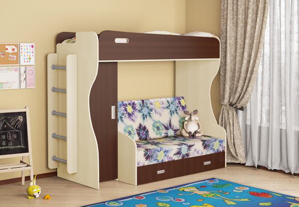 Двухъярусные кровати для детей, кровати чердаки, мебель для детской комнаты….