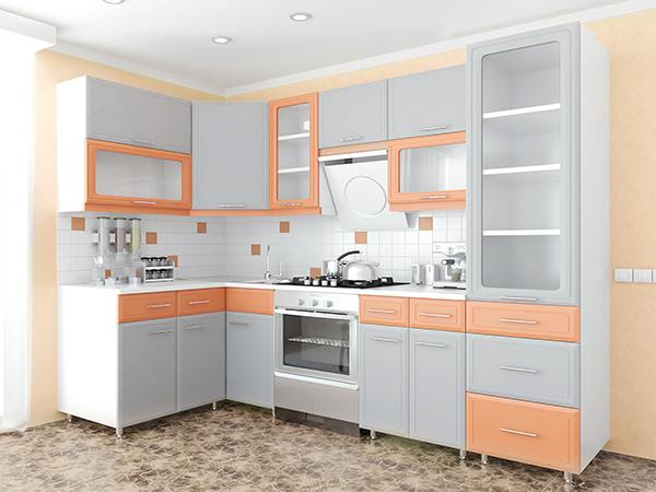 Кухня Кухня Марта 3.1 (МДФ П)