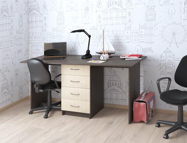 письменный стол с тумбой купить
